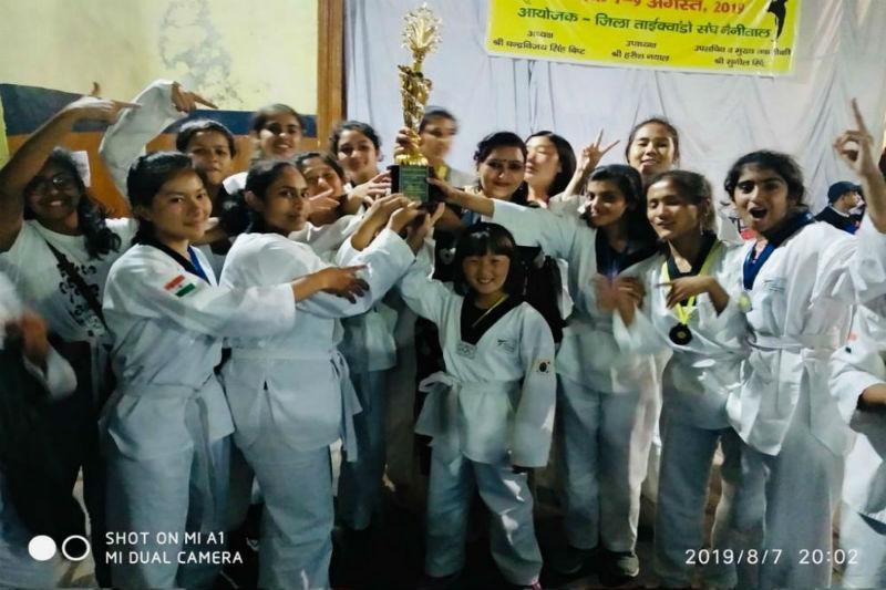 Woodbridge wins the 14th Girls' Inter School Taekwondo Championship, 2019